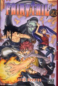 Fairy Tail T23, manga chez Pika de Mashima