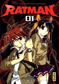 Ratman T1, manga chez Kana de Inui