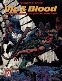 Vic & Blood : Les chroniques d'un gars et son chien (0), comics chez Glénat de Ellison, Corben