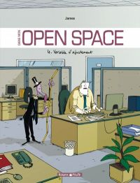 Dans mon open space T4 : Variable d'ajustement (0), bd chez Dargaud de James, Larcenet
