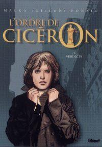 L'ordre de Cicéron T4 : Verdicts (0), bd chez Glénat de Malka, Ponzio