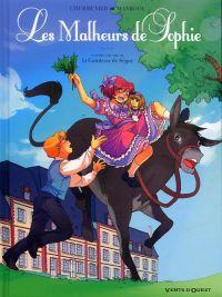 Les Malheurs de Sophie, bd chez Vents d'Ouest de L'Hermenier, Manboou