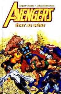 The Avengers : Etat de siège (0), comics chez Panini Comics de Stern, Buscema, Scheele, Ferriter, Becton, Jusko