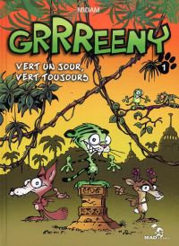 Grrreeny T1 : Vert un jour, vert toujours ! (0), bd chez Mad Fabrik de Patelin, Thitaume, Midam, Adam