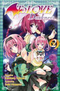 To Love  Darkness T2, manga chez Tonkam de Hasemi, Yabuki