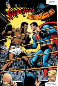Superman vs. Muhammad Ali, comics chez Atlantic de Adams, O'neil, Adams