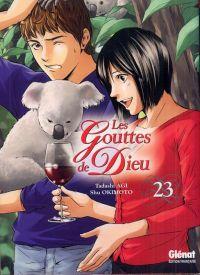 Les gouttes de Dieu T23, manga chez Glénat de Agi, Okimoto