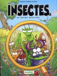 Les Insectes T1, bd chez Bamboo de Vodarzac, Cazenove, Cosby, Mirabelle, Amouriq