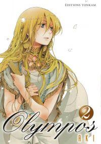 Olympos T2, manga chez Tonkam de Aki
