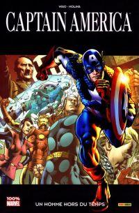 Captain America T5 : Un homme hors du temps (0), comics chez Panini Comics de Waid, Molina, d' Armata, Hitch