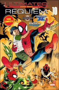 Ultimates – Hors série, T10 : Ultimatum - Requiem (0), comics chez Panini Comics de Coleite, Pokaski, Bendis, Bagley, Atkins, Oliver, Immonen, Delgado, Ponsor, Pantazis, Guru efx