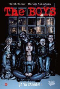 The Boys – édition Deluxe, T2 : Ça va saigner ! (0), comics chez Panini Comics de Ennis, Higgins, Robertson, Aviña