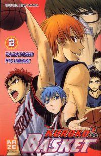 Kuroko's basket T2, manga chez Kazé manga de  Fujimaki