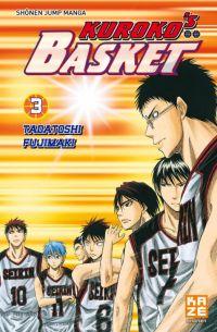 Kuroko's basket T3, manga chez Kazé manga de  Fujimaki