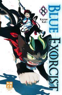 Blue exorcist T8, manga chez Kazé manga de Kato