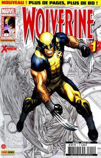 Wolverine (revue) – Revue V 3, T1 : V3 - Rayon d'espoir (0), comics chez Panini Comics de Aaron, Hernandez, Bachalo, Ross, Guru efx, Cho