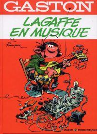 Gaston : Lagaffe en musique, bd chez Marsu Productions de Franquin