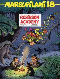 Marsupilami T18 : Robinson Academy (0), bd chez Marsu Productions de Dugomier, Batem, Cerise