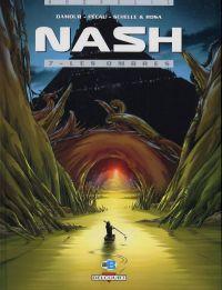 Nash T7 : Les ombres (0), bd chez Delcourt de Pécau, Damour, Rosa, Schelle