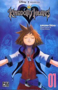 Kingdom hearts  T1 : , manga chez Pika de Shiro, Nomura