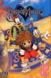 Kingdom hearts  T2 : , manga chez Pika de Shiro, Nomura