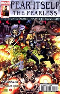 Fear Itself – The Fearless, T2, comics chez Panini Comics de Bunn, Yost, Bagley, Eaton, Pelletier, Wilson, Mounts, Adams