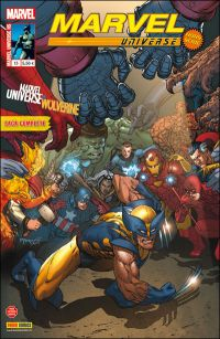 Marvel Universe - Hors Série T13 : Marvel Universe vs. Wolverine (0), comics chez Panini Comics de Maberry, Aaron, Campbell, Isanove, Loughridge, Kaluta