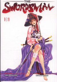The Swordsman T6, manga chez Booken Manga de Lee, Hong