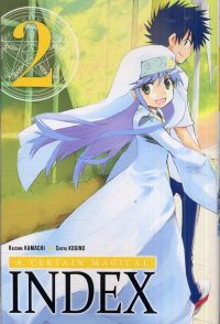 A certain magical index T2, manga chez Ki-oon de Kamachi, Kogino