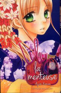 Lily la menteuse T2, manga chez Delcourt de Komura