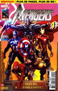 The Avengers (revue) – V 3, T1 : H.A.M.M.E.R., rassemblement (0), comics chez Panini Comics de Brubaker, Bendis, Irvine, Medina, Guedes, Davis, Acuña, Martin, Chung, Keith, Land