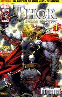 Thor – Revue V 2, T1 : Deuxième chance (0), comics chez Panini Comics de Fraction, Gage, Gillen, Raney, Ferry, Elson, Dodson, Chen, Kholinne, Oback, Cox, Sotomayor, d' Armata, Keown