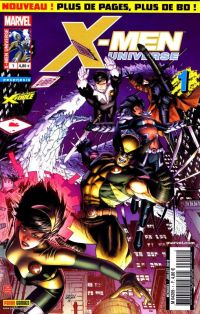 X-Men Universe – Revue V 2, T1 : Machines de guerre (0), comics chez Panini Comics de Gischler, Remender, Conrad, Opeña, Villarubia, White, Sotomayor, Weaver