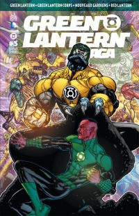 Green Lantern Saga T3, comics chez Urban Comics de Milligan, Bedard, Johns, Tomasi, Mahnke, Borges, Tolibao, Kirkham, Benes, Baron, Ruffino, Eltaeb, Eyring