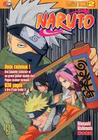 Naruto version collector T2, manga chez Kana de Kishimoto