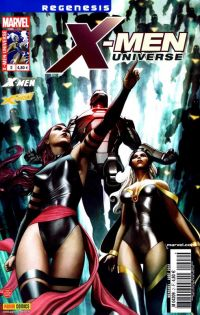 X-Men Universe – Revue V 2, T2 : Rapprochements (0), comics chez Panini Comics de Gischler, Remender, Liu, Ribic, Rodriguez, Perkins, Opeña, Conrad, Kurth, Troy, White, Sotomayor, Granov