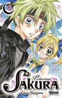 Princesse Sakura T6, manga chez Glénat de Tanemura