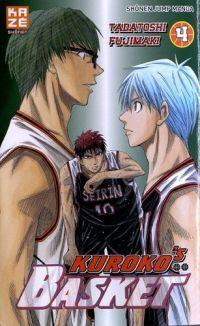 Kuroko's basket T4, manga chez Kazé manga de  Fujimaki