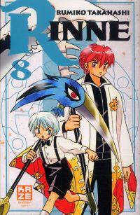 Rinne T8, manga chez Kazé manga de Takahashi