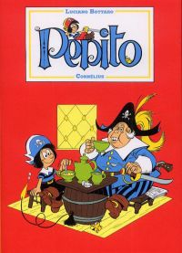 Pépito T1, bd chez Cornelius de Bottaro, Capron