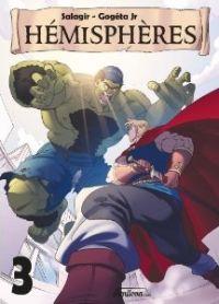 Hémisphères  T3, manga chez Amilova.com de Salagir, Gogéta Jr