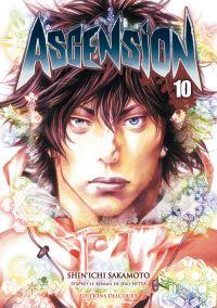 Ascension T10, manga chez Delcourt de Nabeta, Nitta, Sakamoto