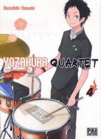 Yozakura quartet T4, manga chez Pika de Suzuhito