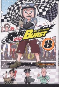 Run Day Burst T8, manga chez Ki-oon de Osada
