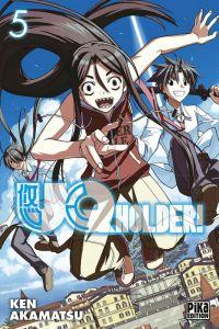UQ Holder! T5, manga chez Pika de Akamatsu