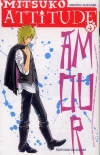 Mitsuko attitude T4, manga chez Delcourt de Kurihara