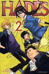 Hadès chasseur de psycho-démons T2, manga chez Delcourt de Aimoto