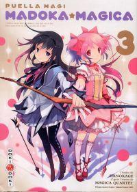 Puella Magi Madoka magica T3 : , manga chez Bamboo de Magica Quartet, Hanokage