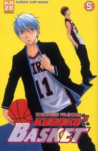 Kuroko's basket T5, manga chez Kazé manga de  Fujimaki