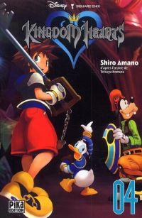 Kingdom hearts  T4 : , manga chez Pika de Nomura, Shiro